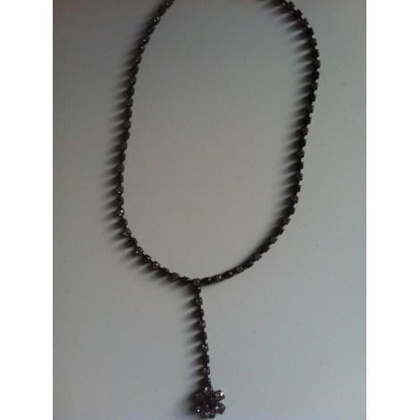 Pendentif, collier pendentif AGATHA Rose, fuschia, vieux rose