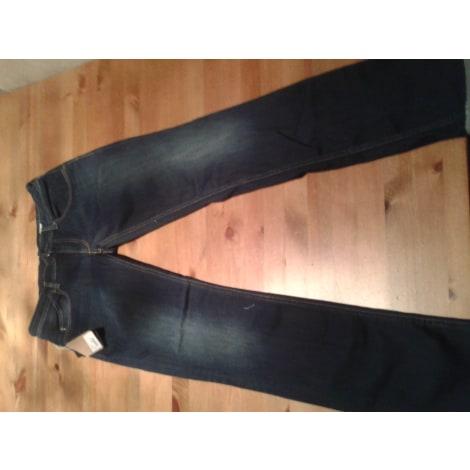 Jeans slim WE ARE REPLAY Bleu, bleu marine, bleu turquoise