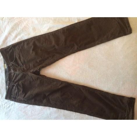 Pantalon slim MEXX Marron