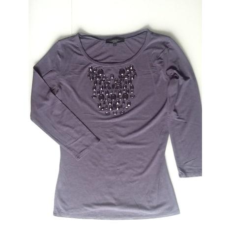 Top, tee-shirt MAX MARA Violet, mauve, lavande