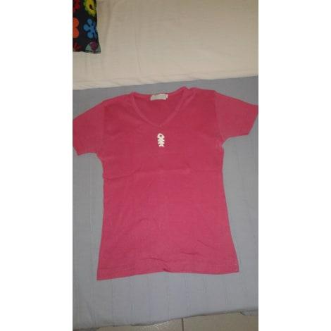 Top, tee-shirt DIPLODOCUS Rose, fuschia, vieux rose