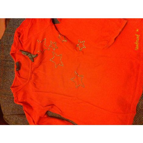 Top, Tee-shirt NAF NAF Orange