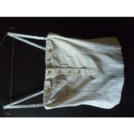Bustier D&G Blanc, blanc cassé, écru