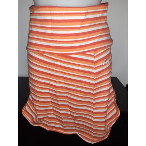 Jupe courte ADIDAS Orange