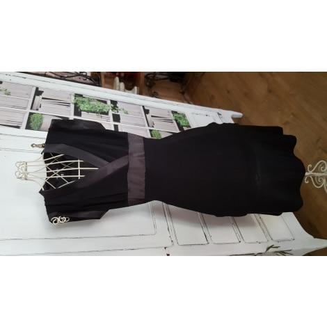 Robe mi-longue JENNYFER Noir