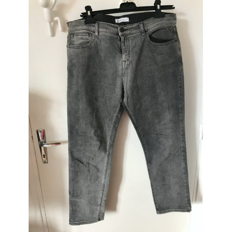 Jeans droit SEE BY CHLOE Gris, anthracite