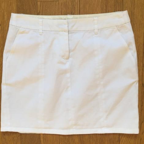 Jupe courte ETAM Blanc, blanc cassé, écru