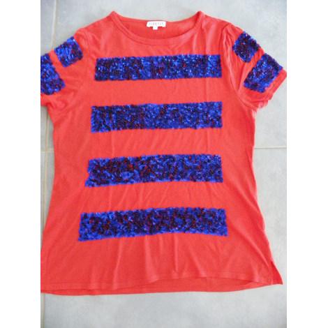 Top, tee-shirt CLAUDIE PIERLOT Rouge, bordeaux