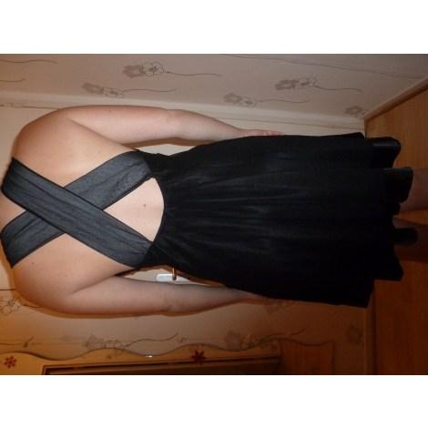 Robe dos nu CACHE CACHE Noir