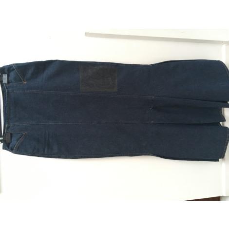 Jupe en jean SAVE THE QUEEN Bleu, bleu marine, bleu turquoise
