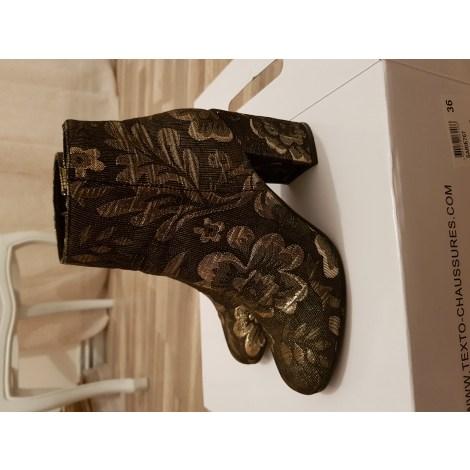Bottines & low boots à talons TEXTO Multicouleur