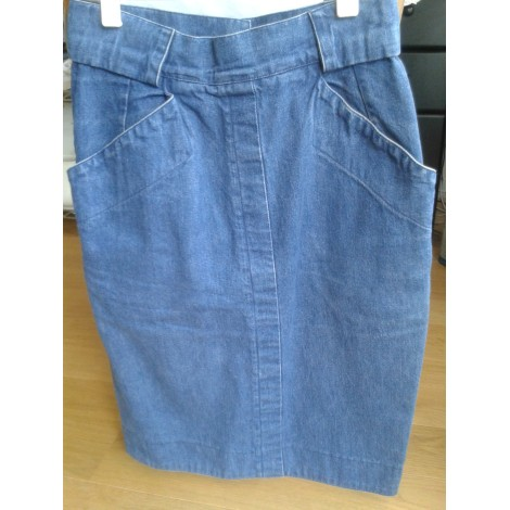Jupe en jean TEENFLO Bleu, bleu marine, bleu turquoise