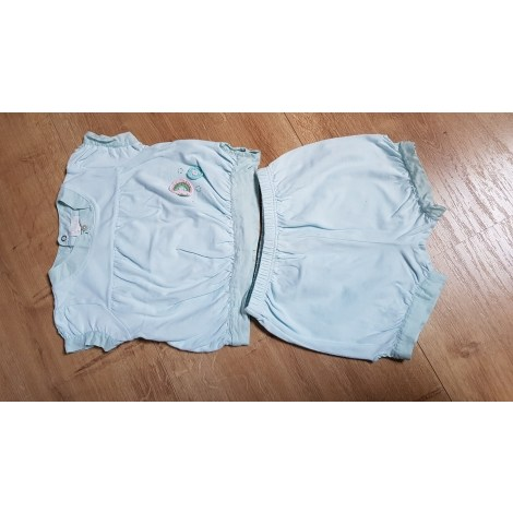 Ensemble & Combinaison short JACADI Bleu, bleu marine, bleu turquoise