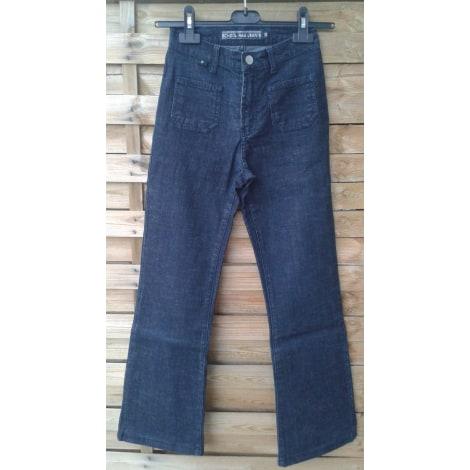 Jeans évasé, boot-cut SCHOOL RAG Noir
