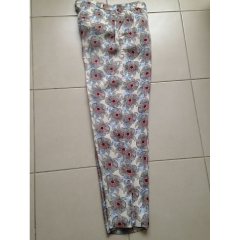 Pantalon droit MONOPRIX Multicouleur
