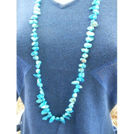 Collier ZABOK Bleu, bleu marine, bleu turquoise