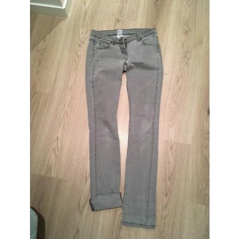 Jeans droit SASS & BIDE Gris, anthracite
