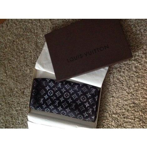 Châle LOUIS VUITTON noir gris vendu par D orianna305012 - 3549908 3ad461e2e8f
