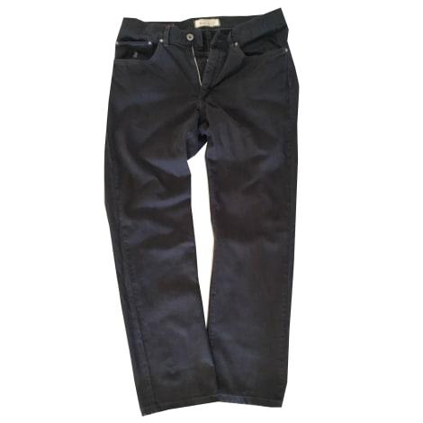 Pantalon droit MARLBORO CLASSICS Noir