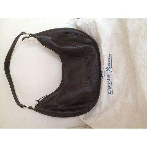 e97697ea58 Leather Shoulder Bag CARLA SADE brown new sold by Eglantine66 - 4190453