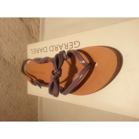 Sandales plates  GERARD DAREL Violet, mauve, lavande