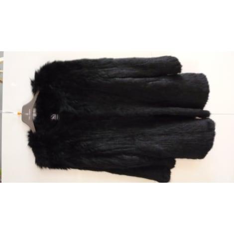 manteau en fourrure sin quanone 36 s t1 noir vendu par le vide dressing de chriss136552 5589048. Black Bedroom Furniture Sets. Home Design Ideas