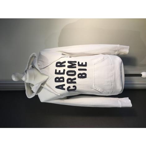 Sweat ABERCROMBIE & FITCH Blanc, blanc cassé, écru