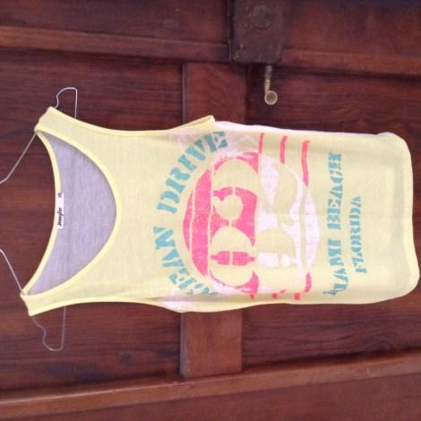 Top, tee-shirt JENNYFER Jaune