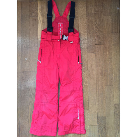 pantalon de ski poivre blanc 7 8 ans rouge 5994786. Black Bedroom Furniture Sets. Home Design Ideas