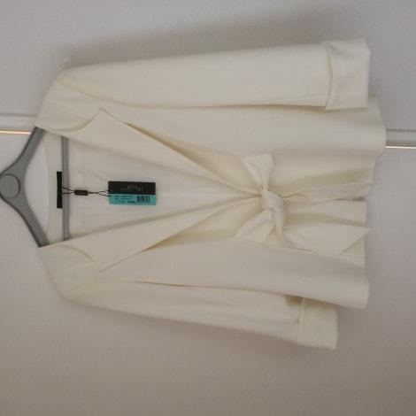 blazer veste tailleur un jour ailleurs 40 l t3 blanc vendu par margolyne 6707723. Black Bedroom Furniture Sets. Home Design Ideas