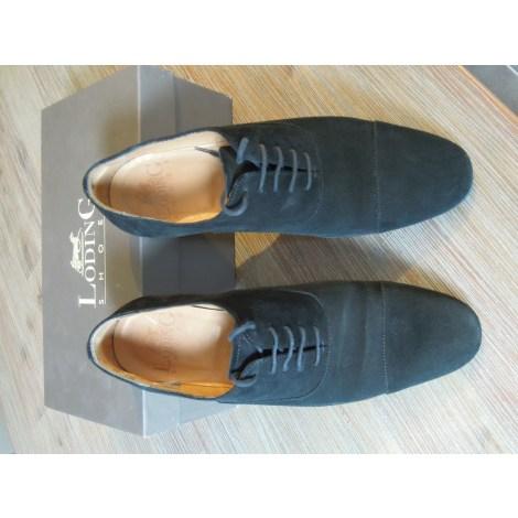Chaussures à lacets LODING Noir