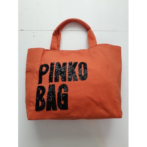 Sac XL en tissu PINKO Orange