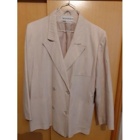 Blazer, veste tailleur WEINBERG Blanc, blanc cassé, écru