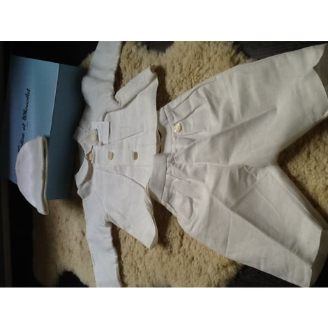 Ensemble & Combinaison pantalon TARTINE ET CHOCOLAT Blanc, blanc cassé, écru