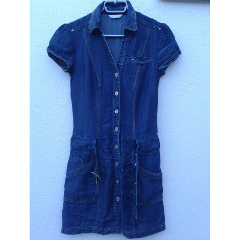 Robe en jeans PROMOD Bleu Jean