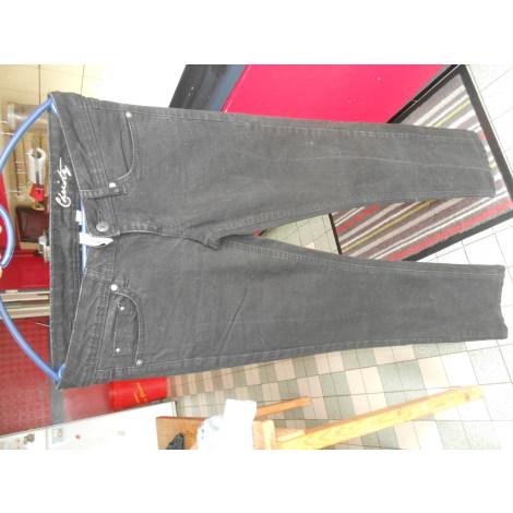 Jeans droit MANGO Noir