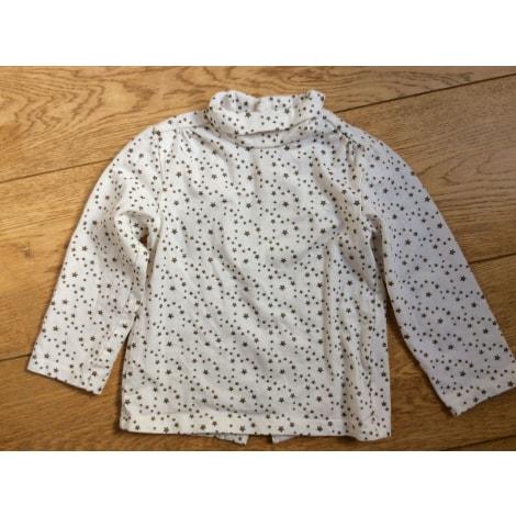 Top, tee shirt KITCHOUN Blanc, blanc cassé, écru