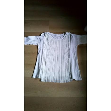 Top, tee-shirt COS Blanc, blanc cassé, écru