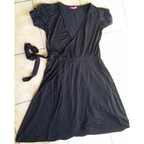 Robe mi-longue WHY NOT Noir