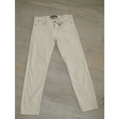 Jeans slim IKKS Beige, camel