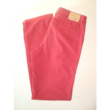 Pantalon droit HUGO BOSS Rouge, bordeaux