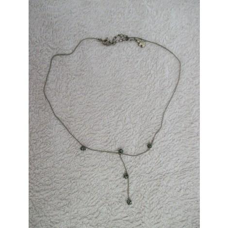 Pendentif, collier pendentif AGATHA Argenté, acier