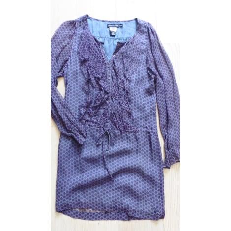 Robe courte ANTIK BATIK Violet, mauve, lavande