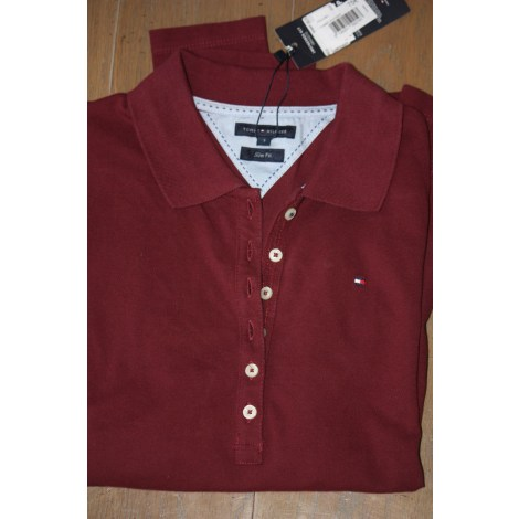 Polo TOMMY HILFIGER Bordeaux