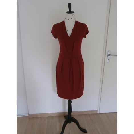 Robe courte ANNA FIELD Rouge, bordeaux