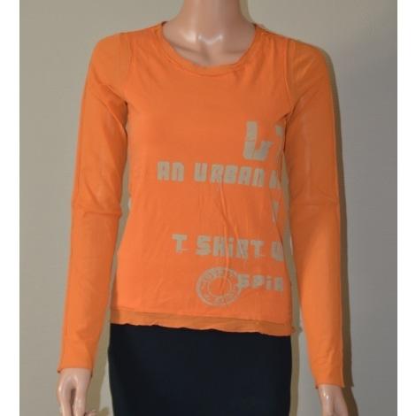 Top, tee-shirt LINEA T. BY ZAPA Orange