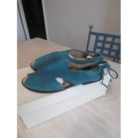 Sandales plates  ROBERT CLERGERIE Bleu, bleu marine, bleu turquoise