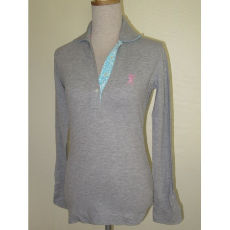 Top, tee-shirt VICOMTE A. Gris, anthracite
