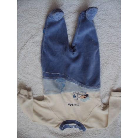 Grenouillère, babygros ABSORBA Bleu, bleu marine, bleu turquoise