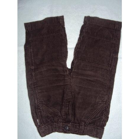 Pantalon OBAIBI Marron